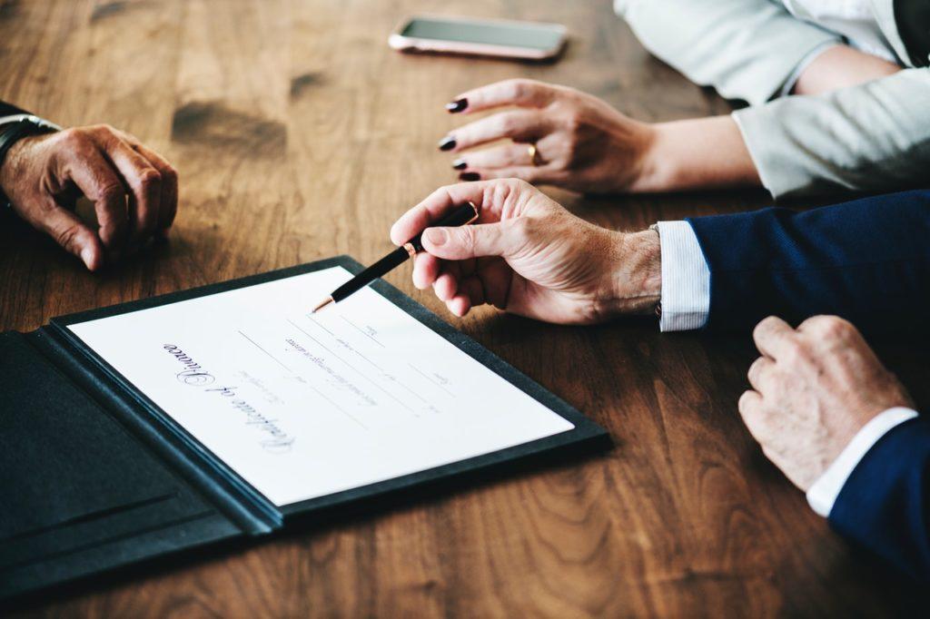 Mediation bei Trennung oder Scheidung.