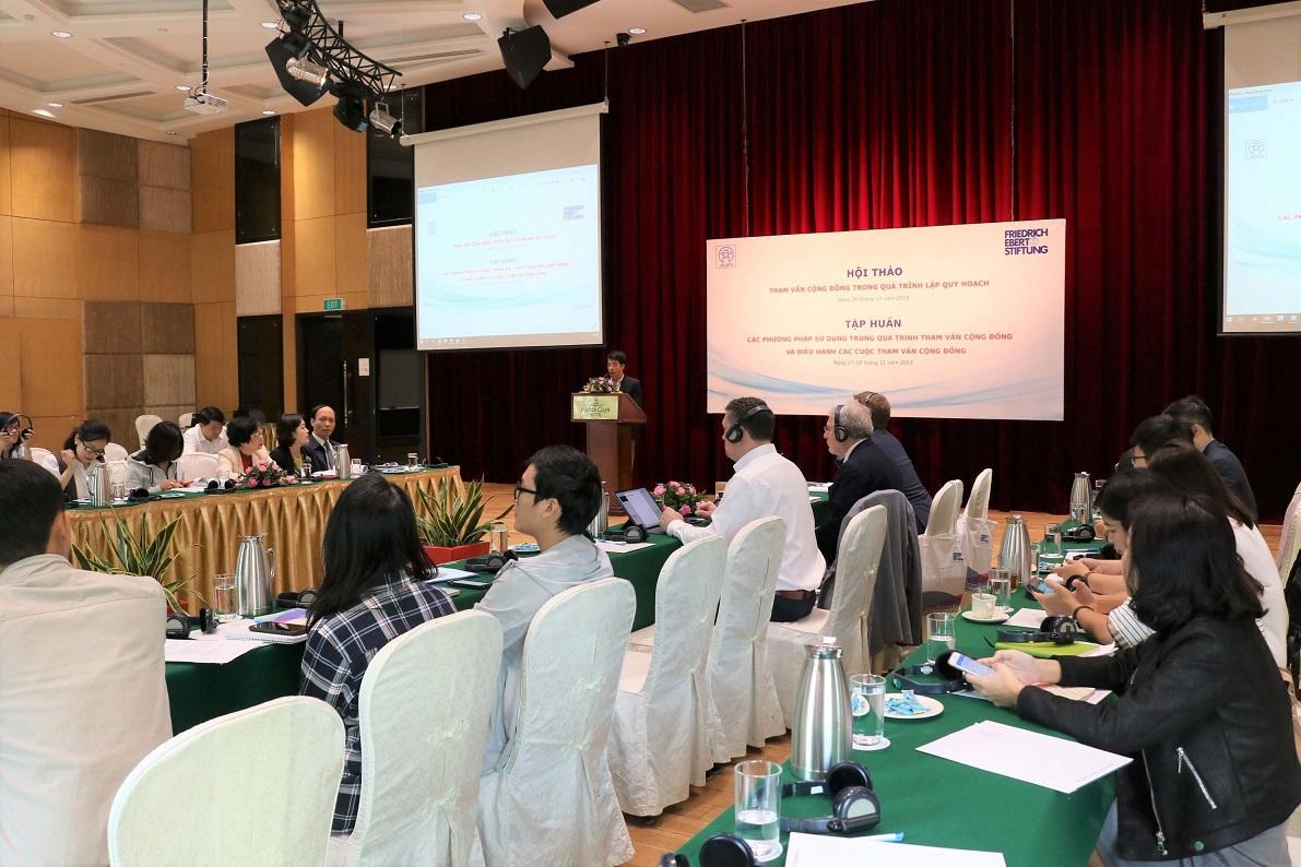 Bürgerbeteiligung im Planungsprozess - Workshop und Trainingsveranstaltung in Hanoi